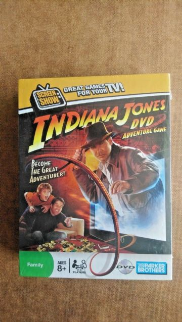 Indiana Jones DVD  Adventue Game (NEW AND SEALED)